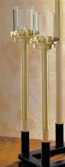 Flambeaux, Holz 50 cm