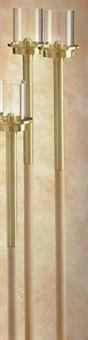 Flambeaux, Holz 100 cm