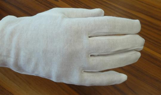 NEU Handschuhe aus 100 % Baumwolle - waschbar