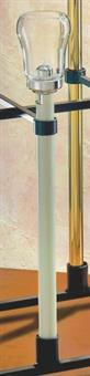 Flambeauxstab, elfenbein, 50 cm