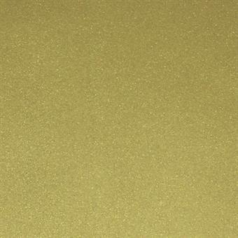 Verzierwachsplatte, mattgold