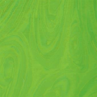 Verzierwachsplatte, grün-multicolor glänzend