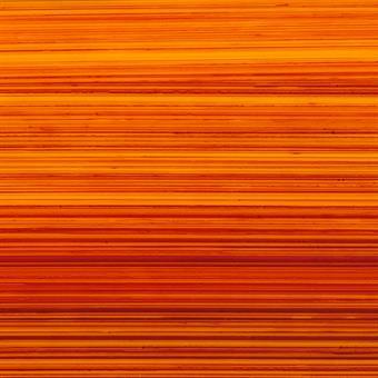 Verzierwachsplatte, orange-rot