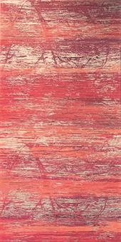 Verzierwachsplatte, rosa strukturiert