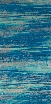 Verzierwachsplatte, blau strukturiert