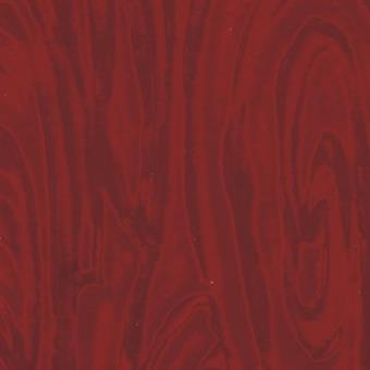 Verzierwachsplatte, rot-multicolor glänzend