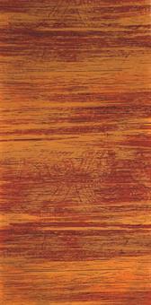 Verzierwachsplatte, orange strukturiert
