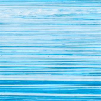 10 Stück Verzierwachsplatten im Set, blau-weiß