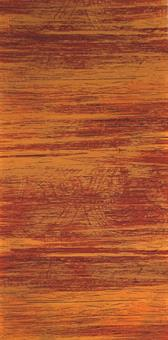 10 Stück Verzierwachsplatten im Set, orange strukturiert