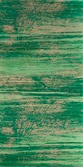 10 Stück Verzierwachsplatten im Set, grün strukturiert