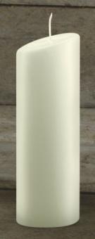 Ovalkerze, elfenbein 200/65  mm