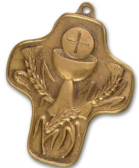 "Bronzekreuz ""Kelch des Lebens"""