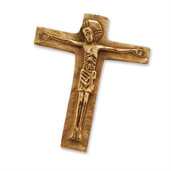 """Bronzekreuz """"Kreuz mit Korpus"""""""