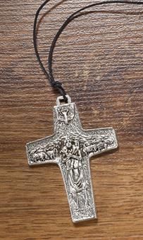 """Kreuz mit Kordel """"Der gute Hirte"""""""