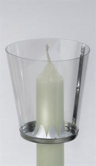 Windschutz f. Kerzen bis 2,5 cm Durchmesser