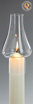 Windschutzglas, Tulpenform 5 cm