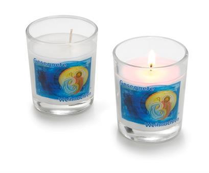"""Glas-Windlicht """"Friedenslicht Bethlehem"""""""