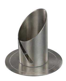 Röhrenleuchter, Nickel , 40 mm