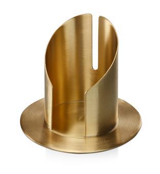 Röhrenleuchter, gold