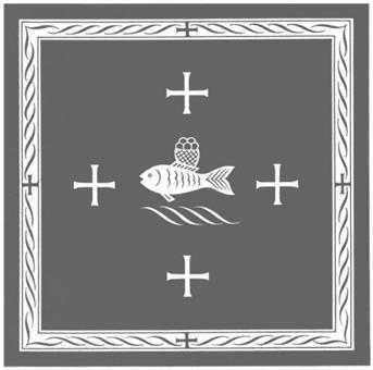 """Corporale, Motiv """"Fisch"""""""