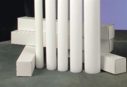 Karton und Schaumstoff für Kerzen 50 cm